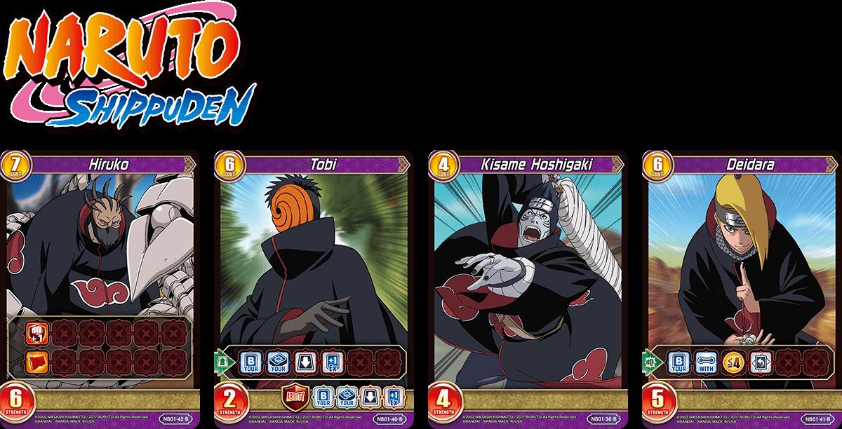 Naruto & Naruto Shippuden Set − TOP Chrono Clash System