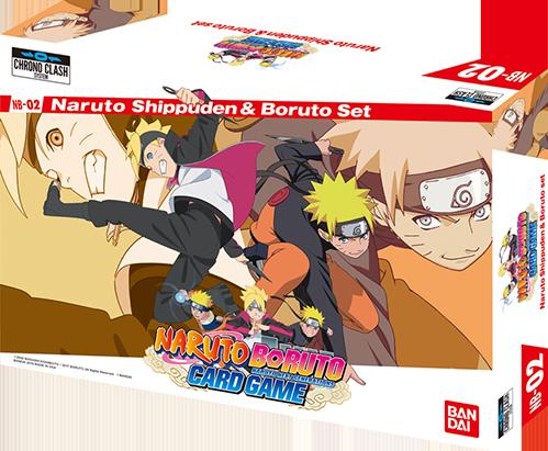 Naruto Shippuden & Boruto Set − TOP|Chrono Clash System